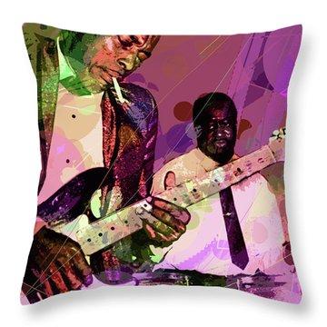 Buddy Guy 1965 Throw Pillow