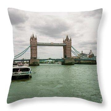 Building Bridges Throw Pillow