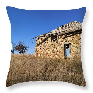 Throw Pillow featuring the photograph Built To Last by Carl Young