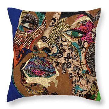 Ibukun Ami Blessed Mark Throw Pillow