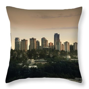 Burnaby Dusk Throw Pillow
