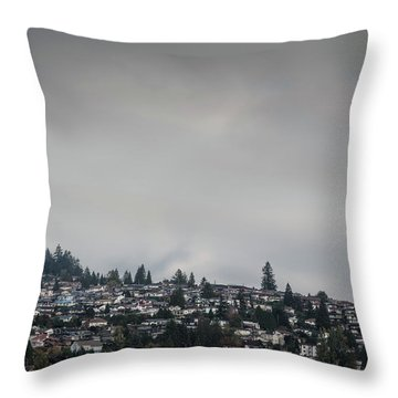 Burnaby Hill Throw Pillow