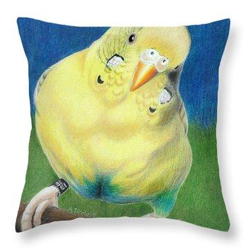 Butter Throw Pillow