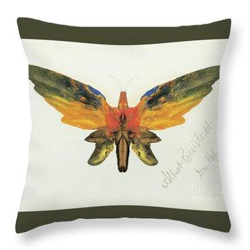 Decalcomania Throw Pillows