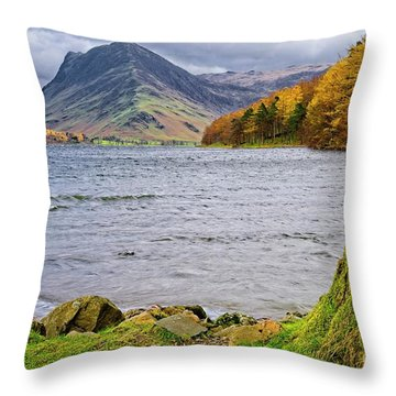 Buttermere Lake District Throw Pillow