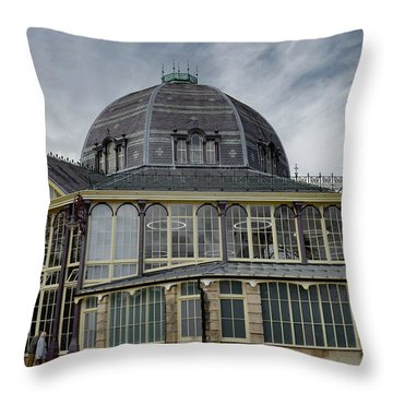 Buxton Octagon Hall At The Pavilion Gardens Throw Pillow