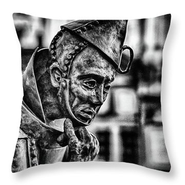 Bw Tinman Throw Pillow
