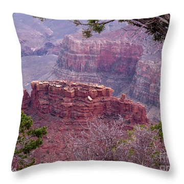 By The Ridge Throw Pillow