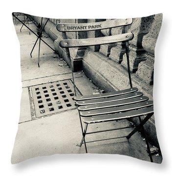 Byrant Park Throw Pillow