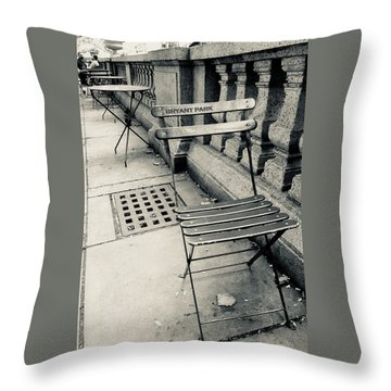 Byrant Park Throw Pillow
