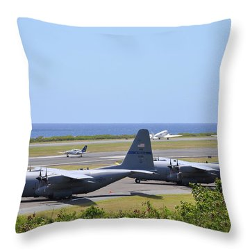 C130h At Rest Throw Pillow