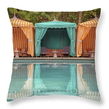 Cabanas Throw Pillow