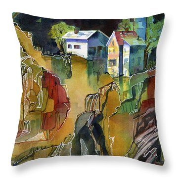 Cabin Life Throw Pillow