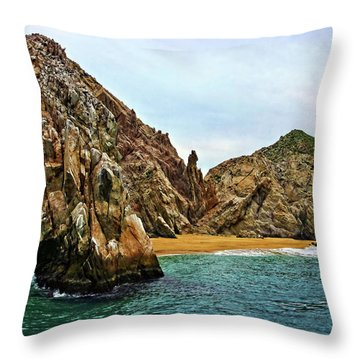 Cabo San Lucas A Different View Throw Pillow