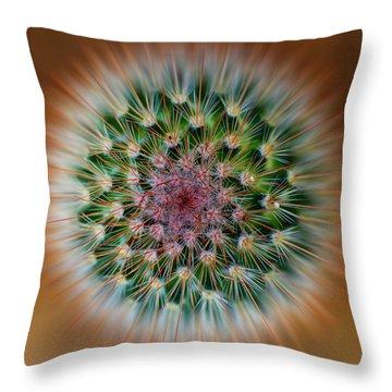 Cactus Cooler Throw Pillow
