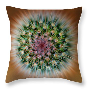 Cactus Cooler Throw Pillow
