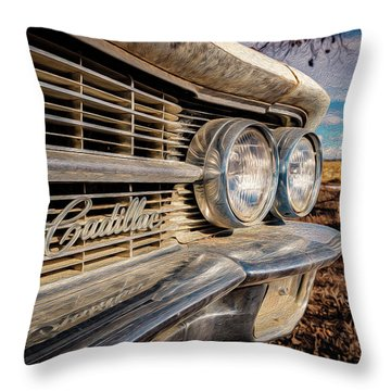 Cadillac Eyes Throw Pillow