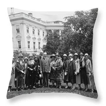 California Delegation To Federation Throw Pillow