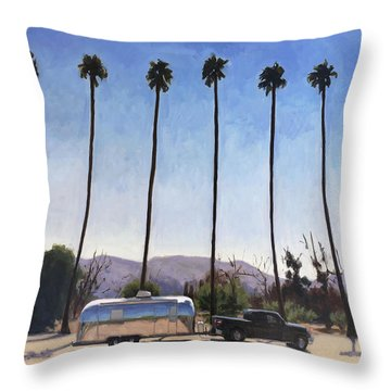 California Honeymoon Throw Pillow
