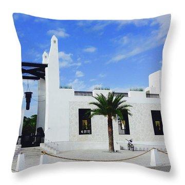 Caliza Pool Throw Pillow