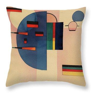 Calmed, 1931 Throw Pillow