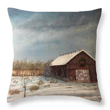 Cambridge Christmas Throw Pillow