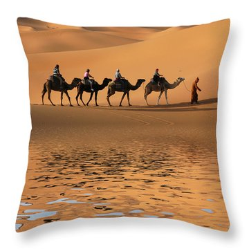 Dromedary Throw Pillows