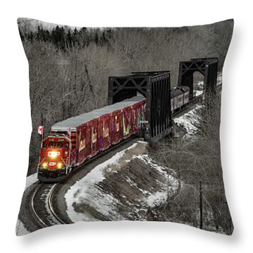 Canadian Pacific Holiday Train 2018 I Throw Pillow