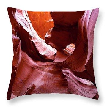 Canyon Colors Throw Pillow