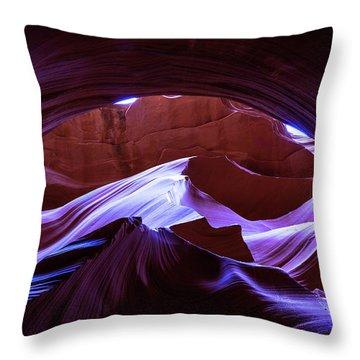 Canyon Magic Throw Pillow