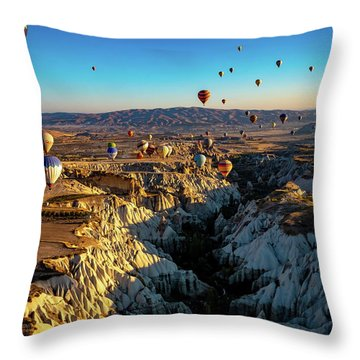 Capadoccia Throw Pillow