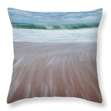 Cape Cod Seashore Throw Pillow