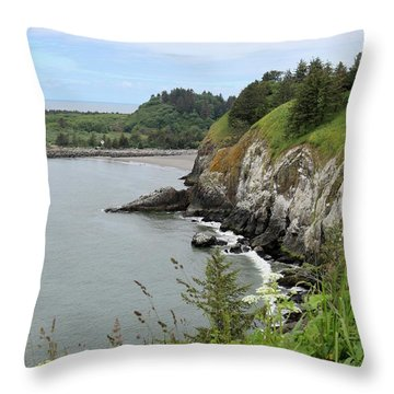Cape Disappointment Vertical Throw Pillow
