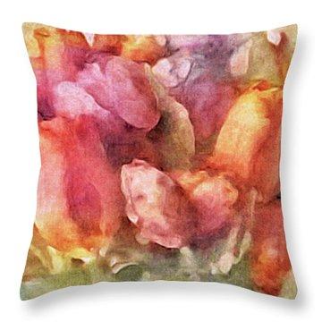 Captured Spring Throw Pillow