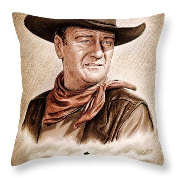 Captured Wild West Edit 2 Throw Pillow
