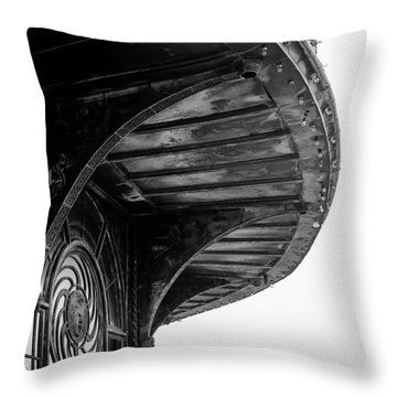 Carousel House Detail Throw Pillow