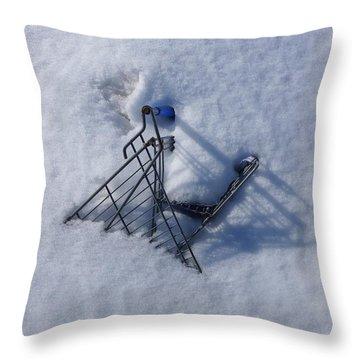 Cart Art No. 32 Throw Pillow