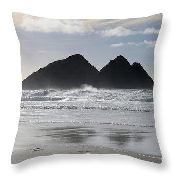 Poldark Throw Pillows Fine Art America