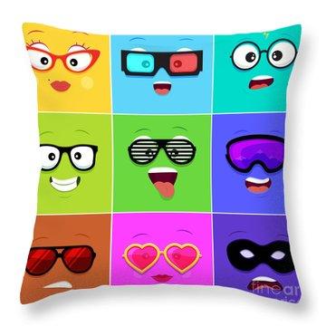 Friendly Throw Pillows