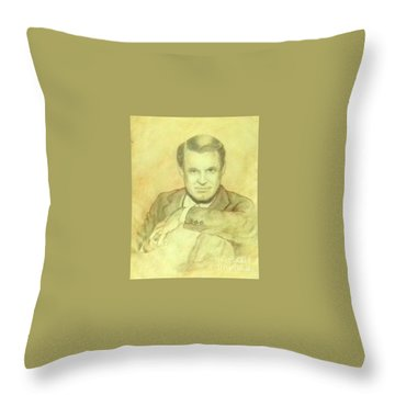 Cary Grant Throw Pillow