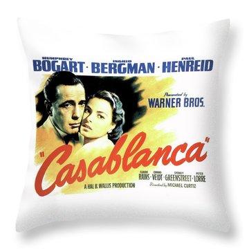 Casablanca Throw Pillow