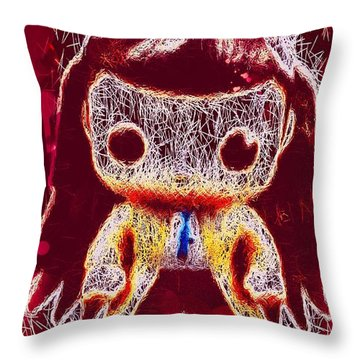 Castiel Supernatural Pop Throw Pillow
