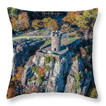 Throw Pillow featuring the photograph Castle Craig by Michael Hughes