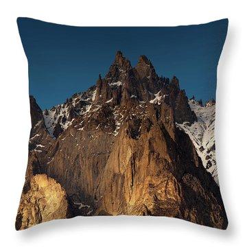 Cathedral Of Passu Throw Pillow