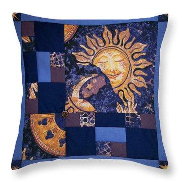 Celestial Slumber Throw Pillow