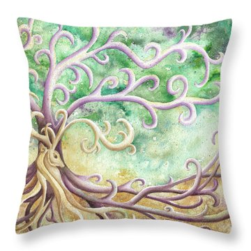 Celtic Culture Throw Pillow