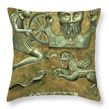 Celtic Image Throw Pillow