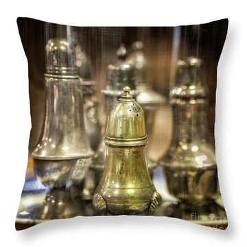 Center Staged Throw Pillow