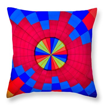 Centerpoint Throw Pillow