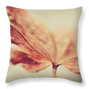 Throw Pillow featuring the photograph Central Focus by Michelle Wermuth